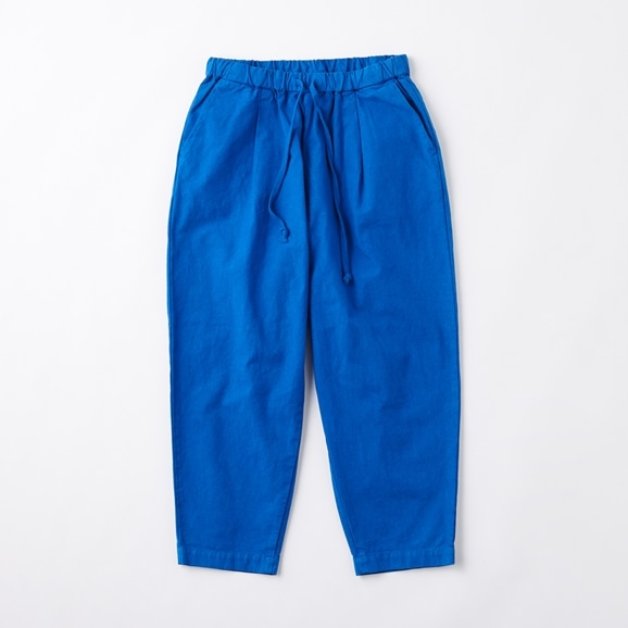 【写真】POOL いろいろの服 コットンテーパードパンツ M ロイヤルブルー 2020AW