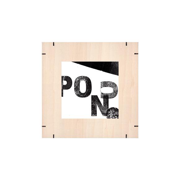 【写真】【一点物】Paper Parade Printing 「Pon」