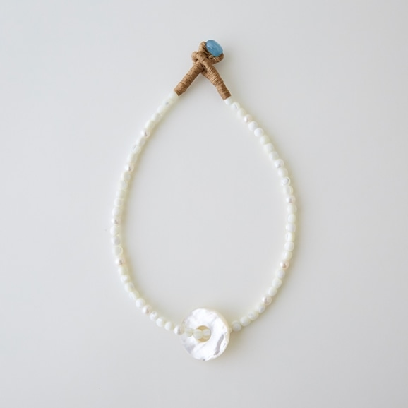 【写真】sai Necklace Shell & Mother of Pearl