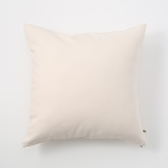 【写真】IDEE CALEIDO クッションカバー 45cm角 White