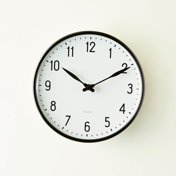 【写真】Arne Jacobsen 掛け時計 STATION φ210