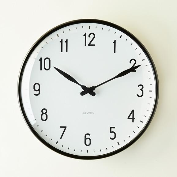 【写真】Arne Jacobsen 掛け時計 STATION φ290