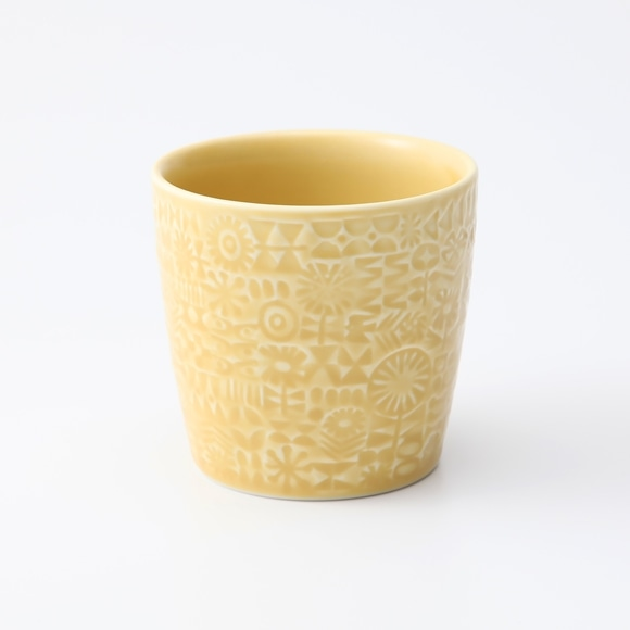 【写真】BIRDS' WORDS PATTERNED CUP