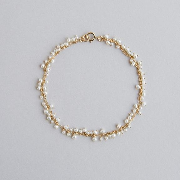 【写真】asumi bijoux shirotsumekusa bracelet