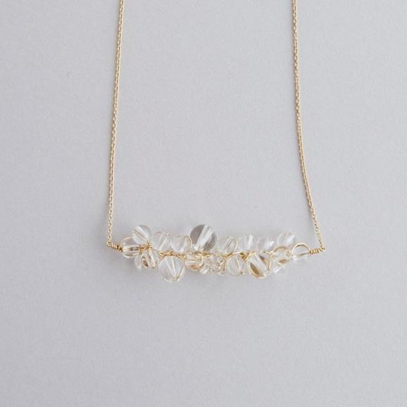 【写真】asumi bijoux asatsuyu necklace