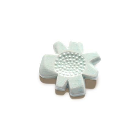【写真】30★BIRDS' WORDS flower tile brooch C