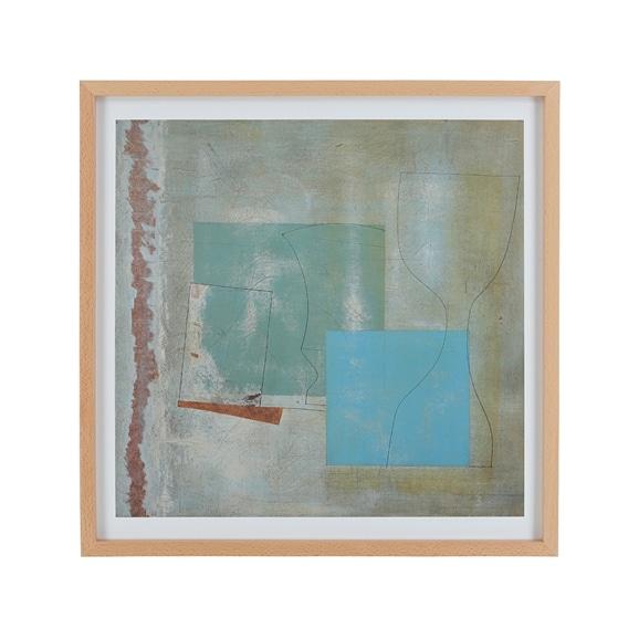 【写真】【定番品】ベン・ニコルソン 「June,1961 (green goblet and blue square)」