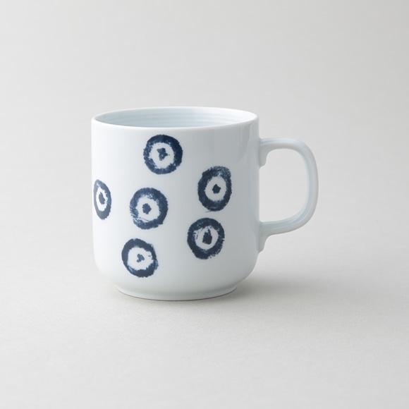 【写真】50★POOL コロコロのもの 白磁マグカップ