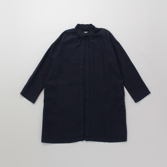 【写真】POOL いろいろの服 コート ネイビー