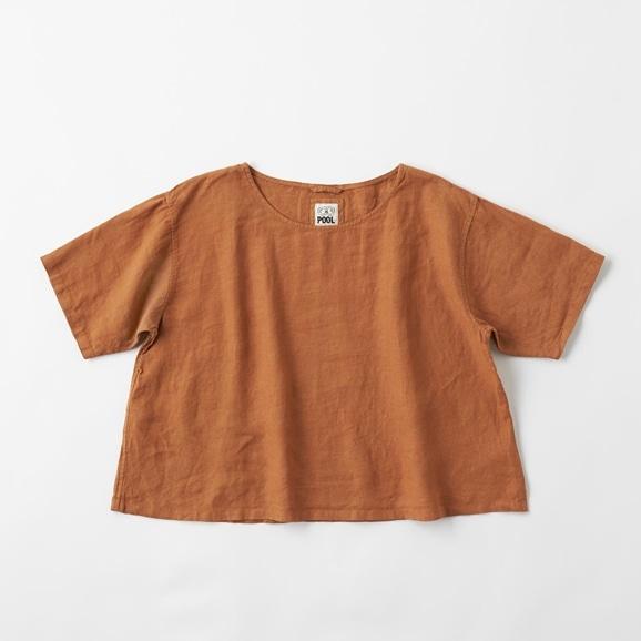 【写真】POOL いろいろの服 ブラウス ブラウン