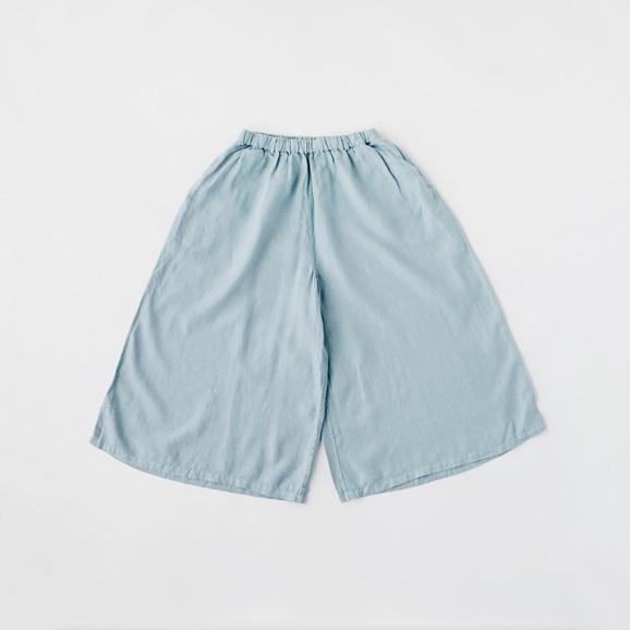【写真】【Archive】POOL いろいろの服 ワイドパンツ ライトブルー