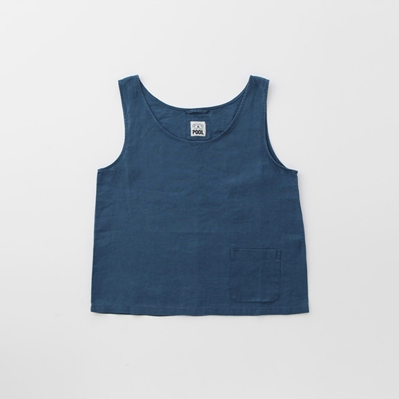 【写真】POOL いろいろの服 タンクトップ ブルー