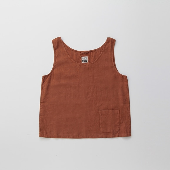 【写真】POOL いろいろの服 タンクトップ ブラウン