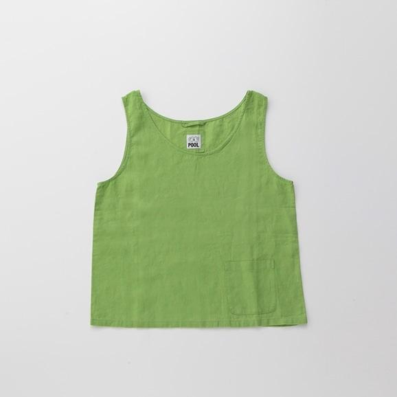 【写真】POOL いろいろの服 タンクトップ ライムグリーン