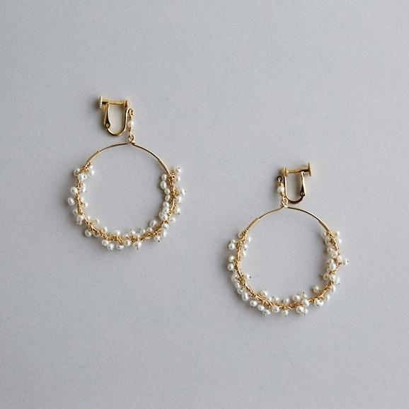 【写真】asumi bijoux shirotsumekusa mini earring