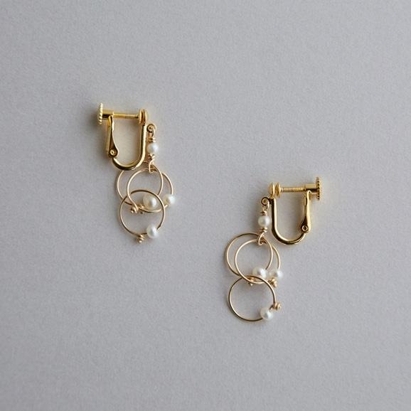 【写真】asumi bijoux petal mini earring