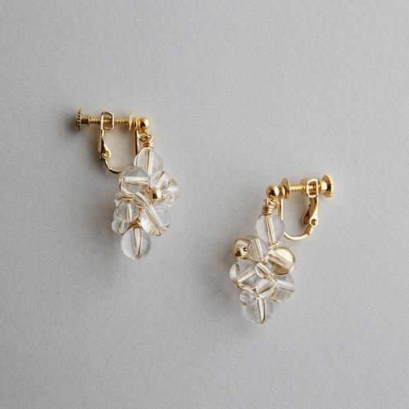 【写真】asumi bijoux asatsuyu earring crystal