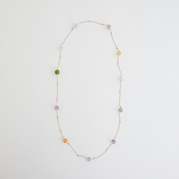 【写真】sai Necklace Multi Color