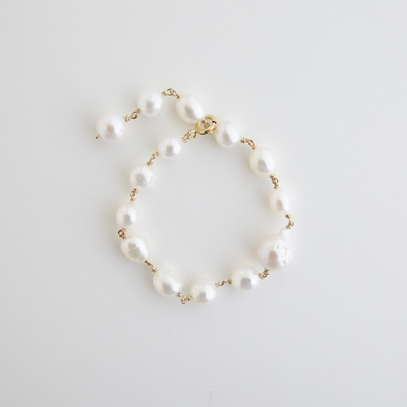 【写真】sai Bracelet Pearl