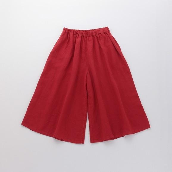 【写真】POOL いろいろの服 ワイドパンツ レッド