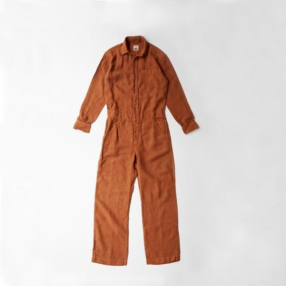 【写真】POOL いろいろの服 オールインワン ブラウン