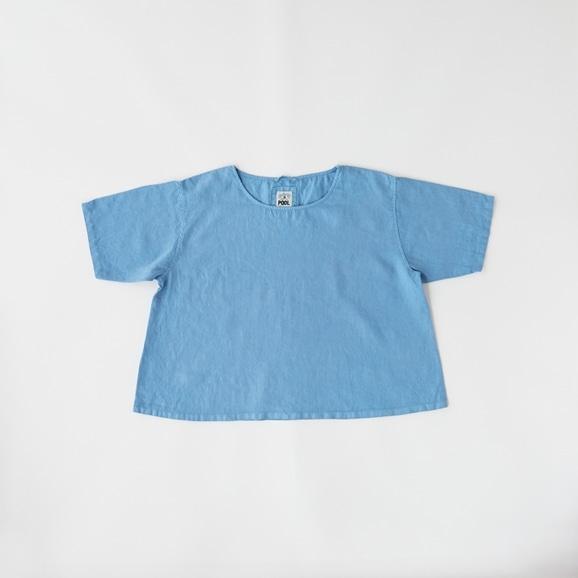 【写真】POOL いろいろの服 ブラウス スカイブルー