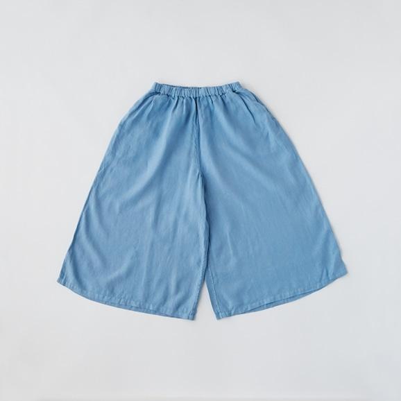 【写真】POOL いろいろの服 ワイドパンツ スカイブルー