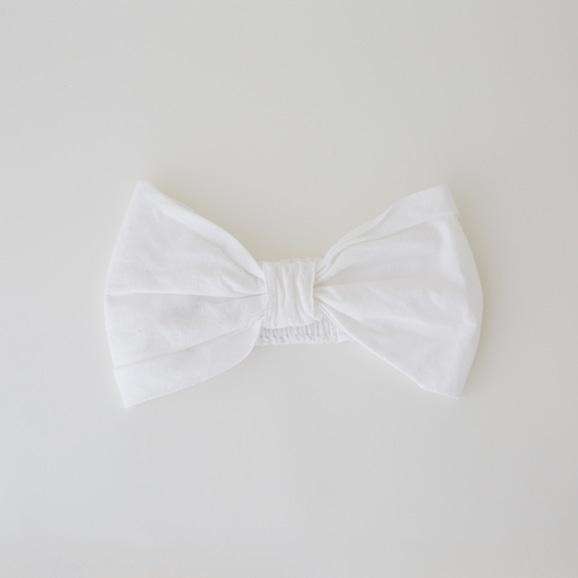 【写真】【Archive】POOL いろいろの服 ヘアバンド ホワイト