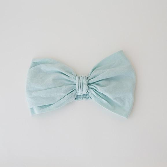 【写真】【Archive】POOL いろいろの服 ヘアバンド ミントブルー
