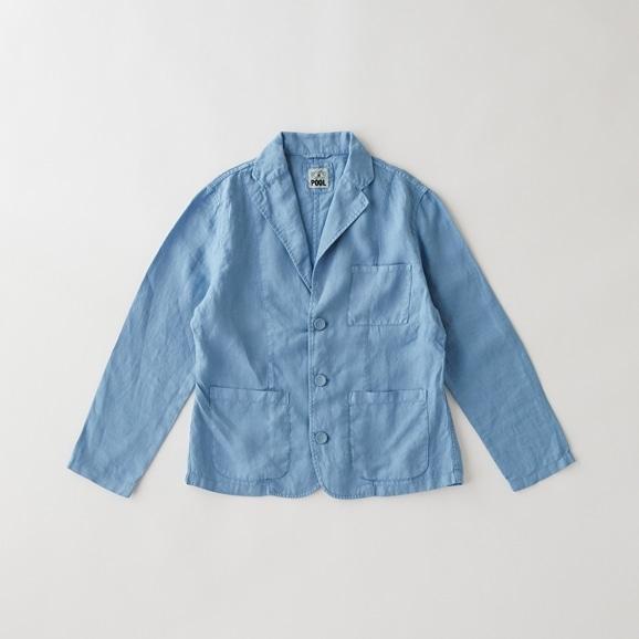 【写真】【Archive】POOL いろいろの服 ジャケット レディス スカイブルー