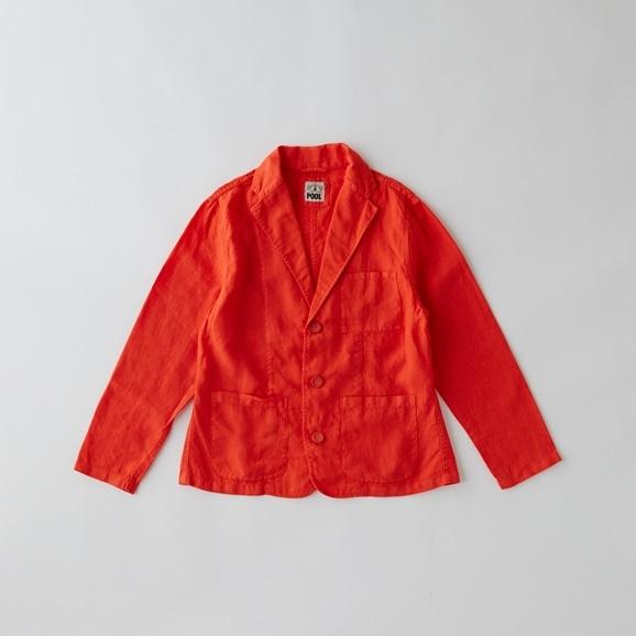 【写真】【Archive】POOL いろいろの服 ジャケット レディス ヴィヴィッドレッド