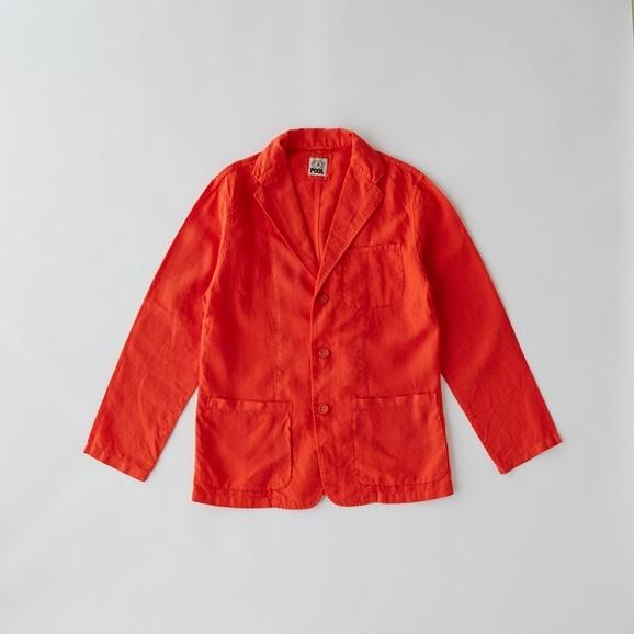 【写真】【Archive】POOL いろいろの服 ジャケット メンズ ヴィヴィッドレッド