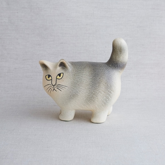 【写真】【定番品】Lisa Larson Cat Moa Gray