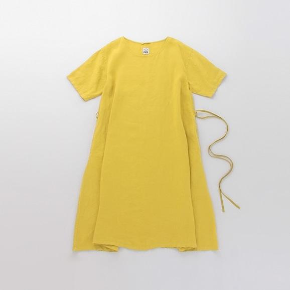 【写真】【Archive】POOL いろいろの服 ワンピース サフランイエロー