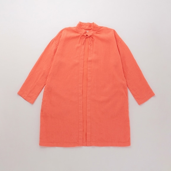 【写真】【Archive】POOL いろいろの服 コート コーラルオレンジ