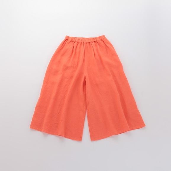 【写真】POOL いろいろの服 ワイドパンツ コーラルオレンジ