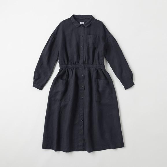 【写真】POOL いろいろの服 アトリエシャツワンピース ネイビー