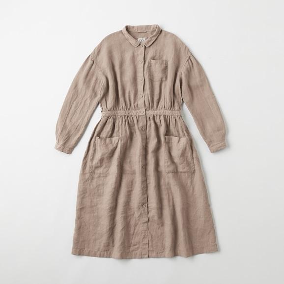 【写真】POOL いろいろの服 アトリエシャツワンピース ミディアムグレー