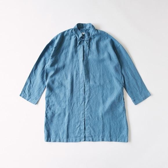 【写真】POOL いろいろの服 コート ブルーグレー