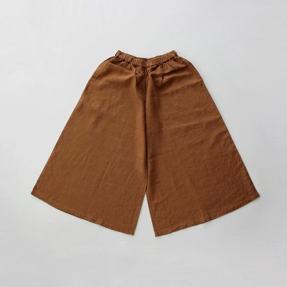 【写真】【旧仕様】POOL いろいろの服 ワイドパンツ ブラウン
