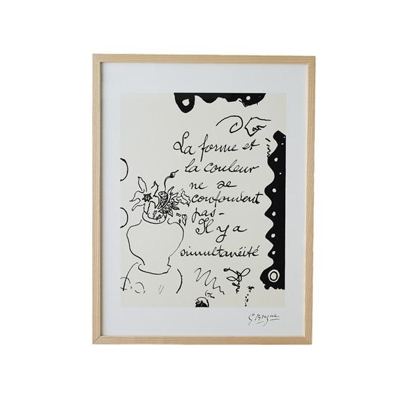 【写真】【定番品】ジョルジュ・ブラック 「La Forme et La Couleu」