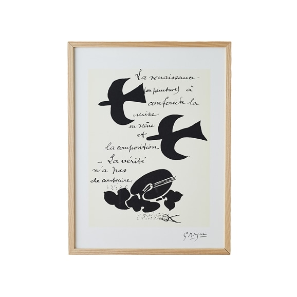 【写真】【定番品】ジョルジュ・ブラック 「La Renaissance」