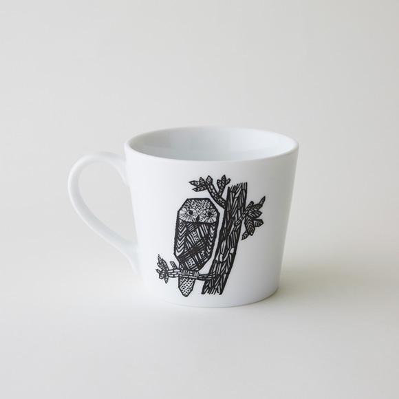 【写真】50★IDEE blanco y negro マグカップ