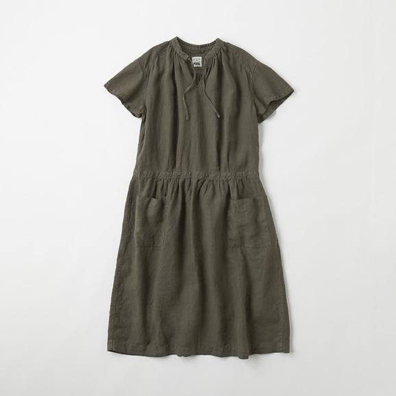 【写真】POOL いろいろの服 プチスリーブワンピース チャコール
