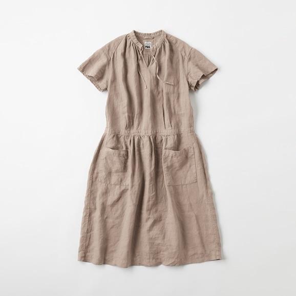 【写真】【Archive】POOL いろいろの服 プチスリーブワンピース ミディアムグレー