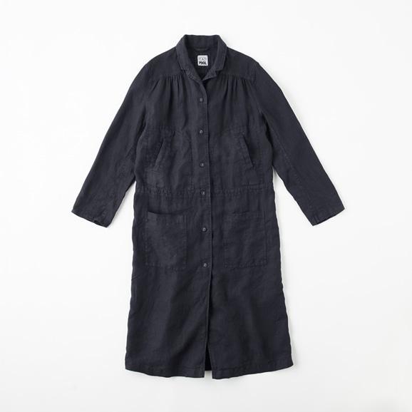 【写真】POOL いろいろの服 ワークコート  ネイビー