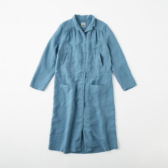 【写真】POOL いろいろの服 ワークコート  ブルーグレー