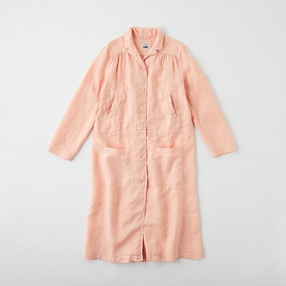【写真】POOL いろいろの服 ワークコート  ピンクベージュ
