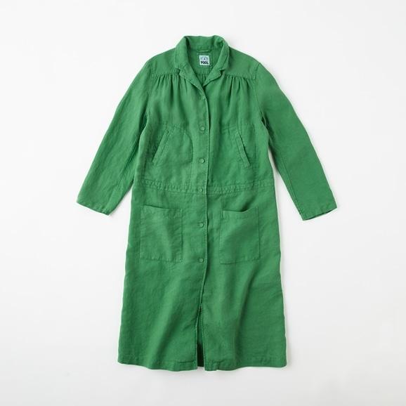 【写真】【Archive】POOL いろいろの服 ワークコート  グラスグリーン