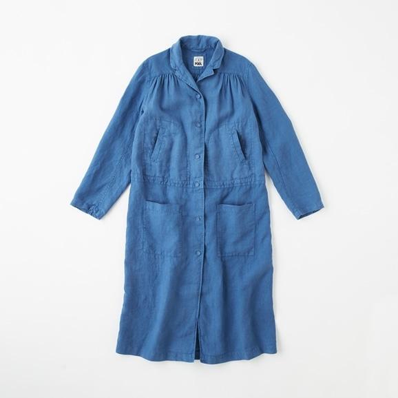 【写真】【Archive】POOL いろいろの服 ワークコート  インディゴブルー